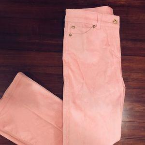 Perfectly pink Escada corduroy pants
